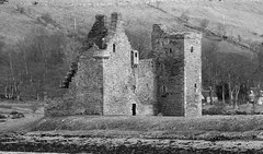Lochranza castle Isle of Arran Scotland (Dave Russell (1.5 million views thanks)) Tags: lochranza castle fort fortress war building architecture ruin isle island arran scotland west western outdoor travel view vista scene scenery hamilton family duchess blackwood davidson historic history campaign clam macdonald cromwell james throne robert bruce menteith earl king royal hunting lodge blackwhitephotos