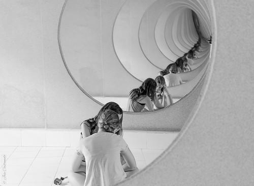 Espejos en los Jameos del Agua