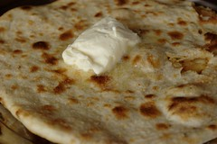 Aloo Parantha with Butter