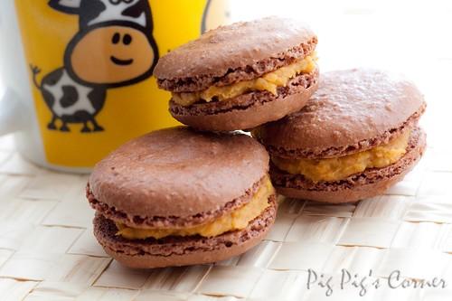 chocolate macaron 5