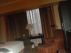 Our furniture-stuffed room at the Las Vegas Hilton