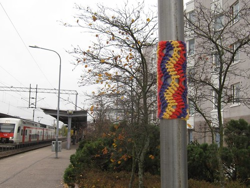 Knit graffiti - siksak