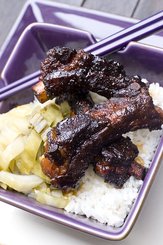 Baby Back Rib in Vietnamese Caramel Sauce on Rice 7