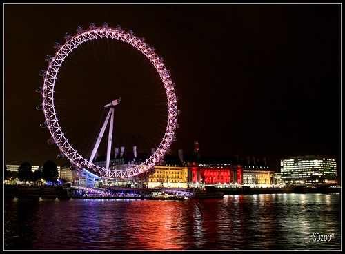 London Eye Facts For Kids. LONDON EYE and County Hall