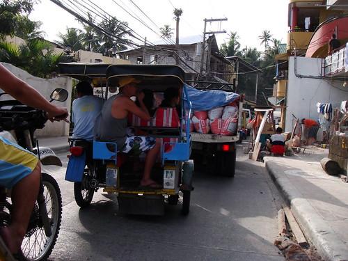 長灘島計程車 Tricycle