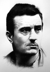 Robert DeNiro 02 (pbradyart) Tags: portrait bw art pencil movie star sketch artwork pencildrawing robertdeniro abigfave filmstardrawing robertdeniropencildrawing robertdenirodrawing robertdeniroportrait