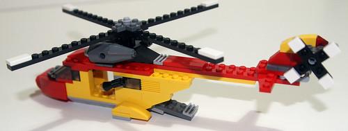 2010 LEGO - Creator 5866 Rotor Rescue