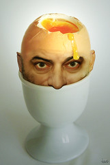 tte d'oeuf~egg head (ixos) Tags: friends food art yellow photoshop jaune fun interestingness artwork head egg humour explore creation montage photomontage nourriture insolite tte visage plat oeuf repas coquille drle cration surealism humournoir absurde drision ixos coquetier unlimitedphotos montahe surrallisme