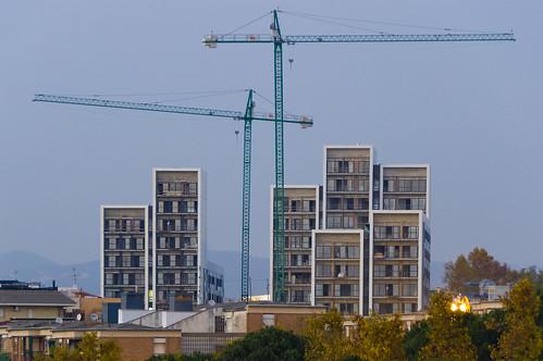 Un edificio de viviendas