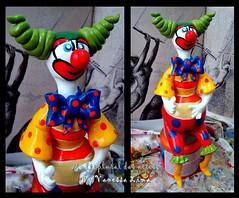 Panudo (Art Vanessa Lima) Tags: clown artesanato paz palhaos cabaas porongos vanessalima