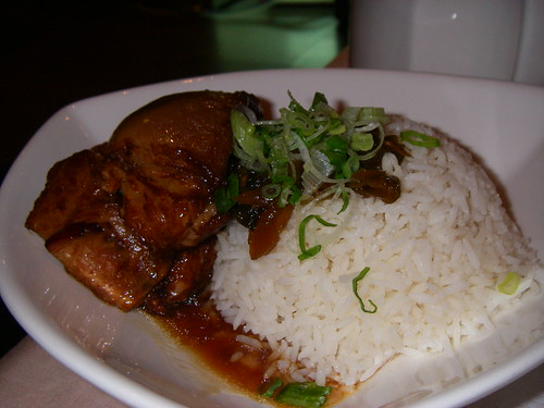 Pork Belly Steamed Rice