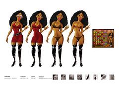 sexgame2 (eduardowestin) Tags: woman game girl sex naked mulher cartoon mulheres jogo negra pelada nua cartum mulata seios