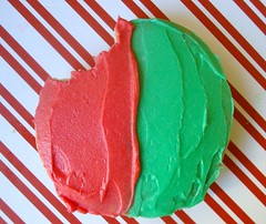 Red and Green Cookies