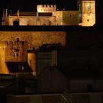 Cáceres: alzado Galarza noche