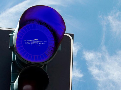 BSOD-traffic light