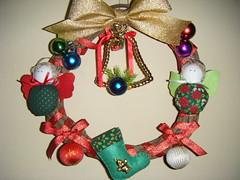 Guirlanda (ankarla88) Tags: christmas natal handmade decorao anjos guirlandas
