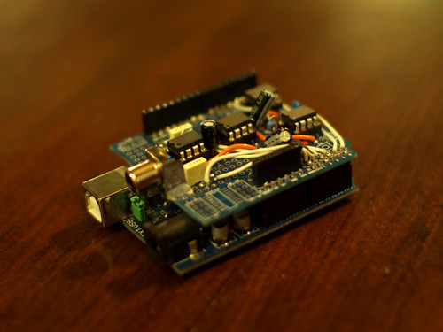 The Arduino Eye Shield