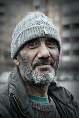 Skuggan (Matte__86) Tags: portrait urban high intense eyes sweden sony homeless malmoe impact a200 malm malmo hemls hiup