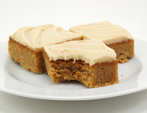 Peanut Butter Cinnamon Blondies