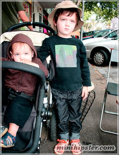 WOLF. MiniHipster.com: children's childrens clothing trends, kids street fashion, kidswear lookbook