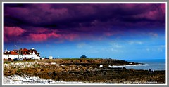 Porthcawl Beach - a bright Sunday (ajay's visual~panorama) Tags: sea sky sun beach sunday porthcawl discoverplanet