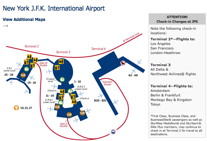 Delta JFK to LAX/SFO/LHR flights moved to Terminal 2 ...