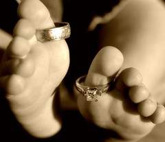Tiny Toes and Wedding Rings