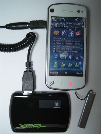 Energizer XPAL Power XP2000 Charging Nokia N97