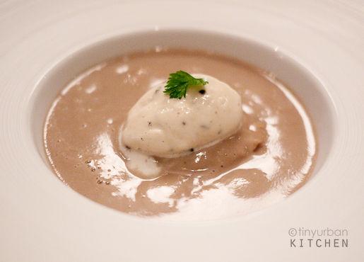 Melisse Mushroom soup