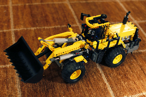 Экскаватор Lego, модель 8265