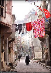Color & Black (a.Kry) Tags: streets turkey istanbul