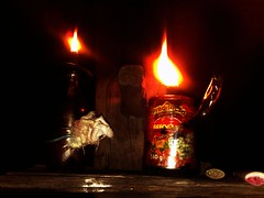 Lamparina (Max Leo) Tags: luz fogo chama lamparina