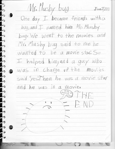 Mushy Bug Movie Star by Claire