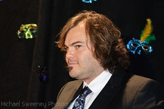 Jack Black getting primed for the onslaught