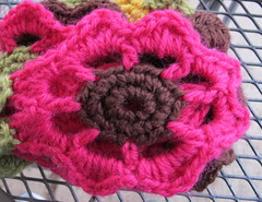 Close-up of Garden Scarf #1