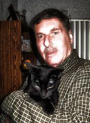 Self Portrait With Cat.. (Mr. Ducke) Tags: kitty cay parsnip mrducke
