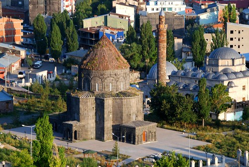 armenian church and mosque, kars