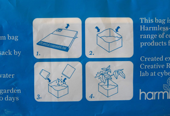 Embalaje biodegradable