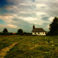 Pastoral (George Nutulescu) Tags: life old morning travel church nature rural landscape nikon pyramid pastel romania older pastoral eglise d40 topseven flickraward theenchantedcarousel nikonflickraward dragondaggerphoto artofimages specialspictures ghelinta redmatrix bestcapturesaoi yourwonderland coppercloudsilvernsun sailsevenseases outstandingromanianphotographers