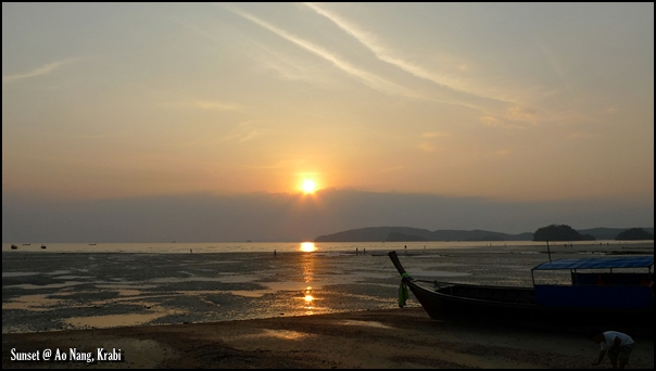 Sunset @ Ao Nang, Krabi