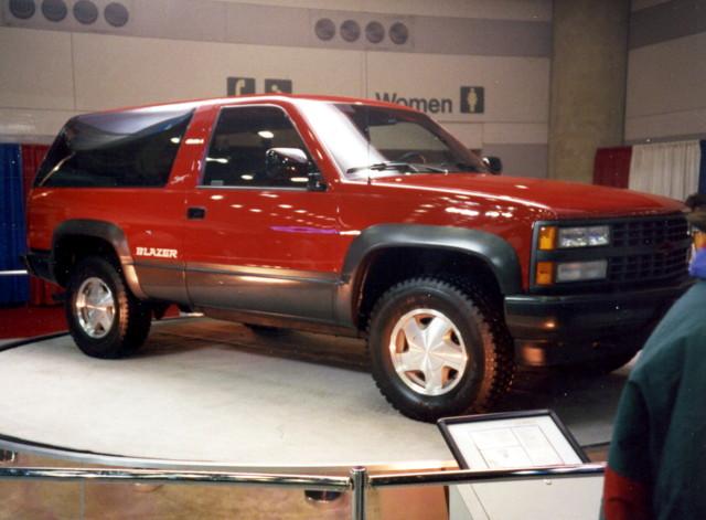 4x4 chevy 1992 suv blazer carshow baltimoremd baltimoreconventioncenter motortrendinternationalautoshow