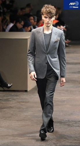 Charlie France3150_FW10_Paris_Hermes(AFP BB News)