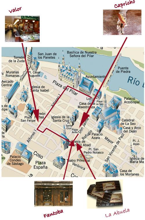 Zaragoza visita guiada: Choco Tour