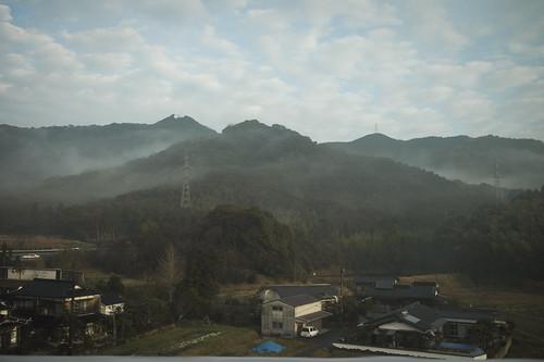 山口県|山陽新幹線の車窓