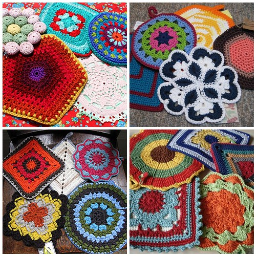 FREE CROCHETED POTHOLDER PATTERNS ? Easy Crochet Patterns