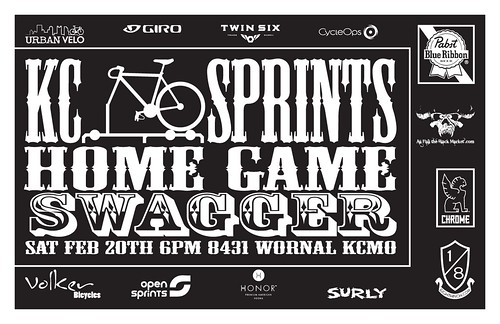 KCSprints @ Swagger flyer