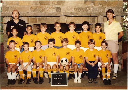 NPAA soccer 1989