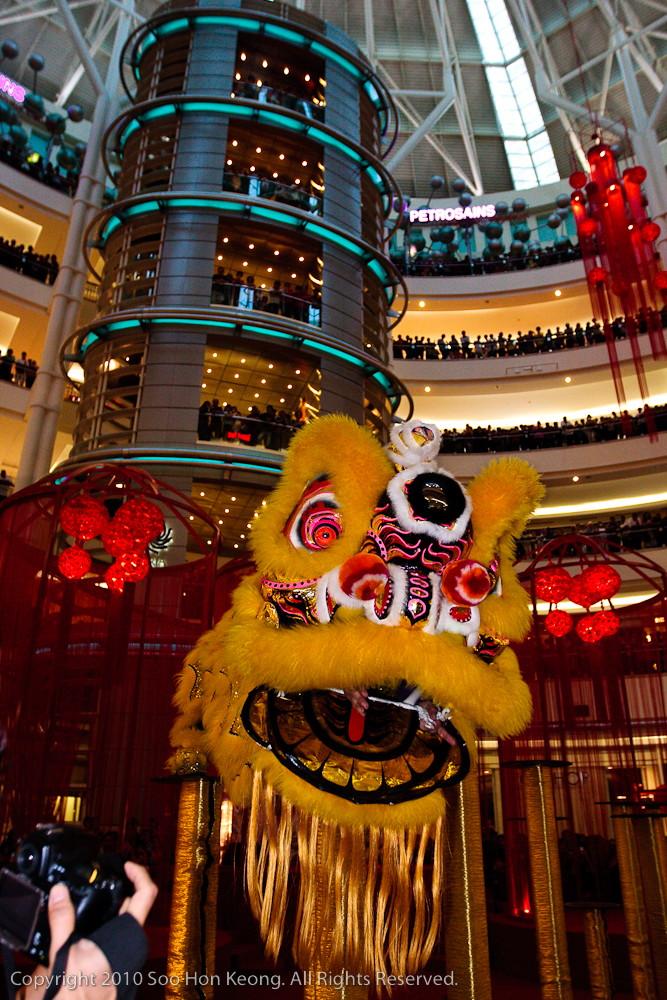 Lion Dance @ KLCC, KL, Malaysia