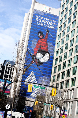 2010 Vancouver Winter Olympics building wrap
