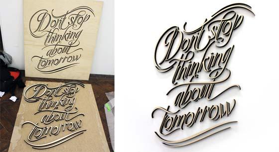 diseños con tipografía